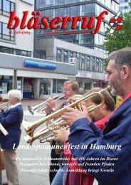 Landesposaunenfest in Hamburg - Gnadauer Posaunenbund