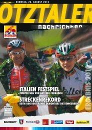 Erg Ebnis 2010 ITALIEN FESTSPIEL ZWEITER SIEG VON ... - Sölden