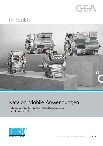 Katalog Mobile Anwendungen - GEA Refrigeration Technologies