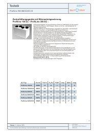 Technik Profiline 150 - 350 - GLT Austria