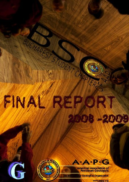 Bucharest Student Chapter final report - geo.edu.ro