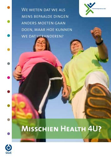 Download de brochure Health4U - GGzE