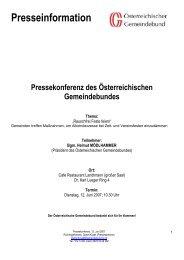 Rauschfrei Feste feiern - Österreichischer Gemeindebund