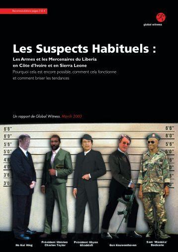 Les Suspects Habituels - Global Witness