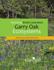 Introductory pages (0.7 MB PDF) - Garry Oak Ecosystems Recovery ...