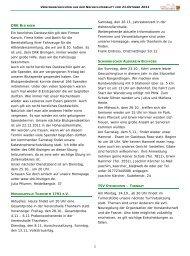Vereinsnachrichten 211011.pub - Gemeinde Bisingen