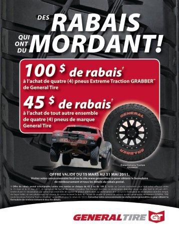 100 $ 45 $ - GM Canada