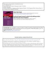Acha et al support groups MDRTB.pdf - GHDonline