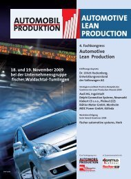 Automotive Lean Production - Global Value Management
