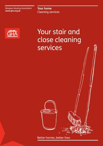 Your stair and close cleaning services - Glasgow Housing Association