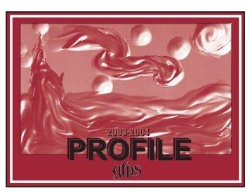 Profile 03-04 - Great Falls Public Schools
