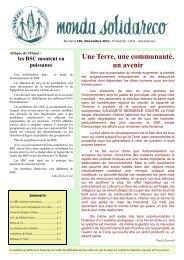 France - Solidarité Mondiale contre la Faim
