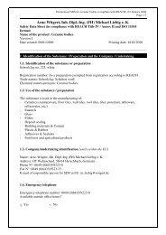 Arno Witgert, Inh. Dipl.-Ing. (FH) Michael Liebig e. K. - Gerstaecker