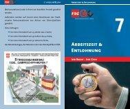 Arbeitszeit & Entlohnung - FSG