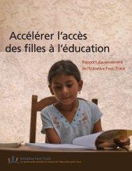 Accélérer l'accès des filles à l'éducation - Global Partnership for ...