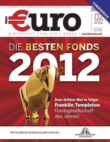 Fondsgesellschaft des Jahres 2012