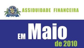 ASSIDUIDADE Financeira - Maio