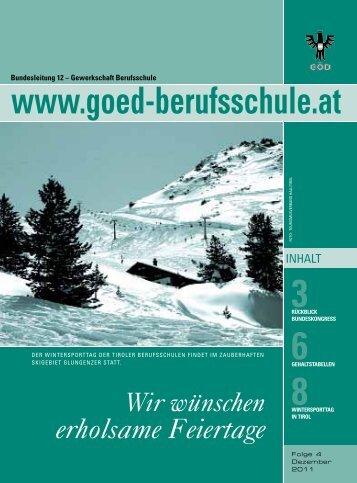 3RückBlick - Bundessektion 12 Berufsschullehrer