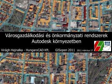 Városgazdálkodási és önkormányzati ... - NymE GEO portál