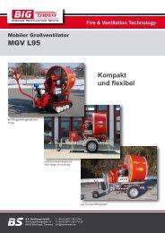 Kompakt und flexibel MGV L95 - Big Tempest