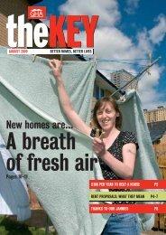 The Key August 2009 - Glasgow Housing Association