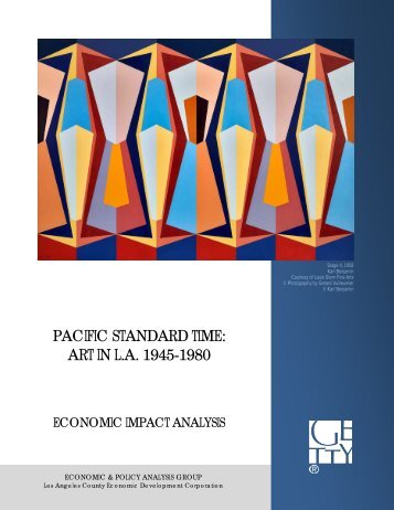 Pacific Standard Time: Art in L.A. 1945-1980 - The Getty