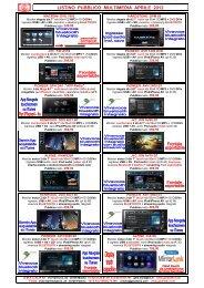 Listino GMA Multimedia Pubblico Apr 2012 - GMA Italia Srl