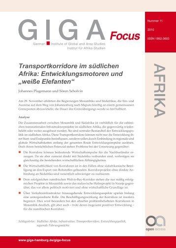 """Entwicklungsmotoren und """"weiße Elefanten"""" - GIGA German Institute ..."""
