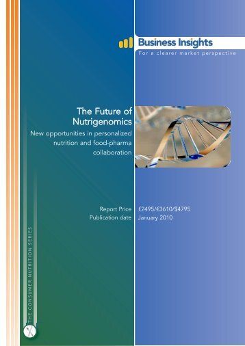 The Future of Nutrigenomics - Business Insights