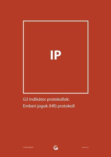 Emberi jogok (HR) protokoll - Global Reporting Initiative