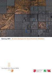 GeoLog 2007 - Geologischer Dienst NRW - Landesregierung ...