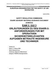 Erläuterungen zu den ESARR-5 Anforderungen für mit ... - GdF