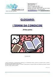 1° Dizionario DIC - GEP Informatica Srl