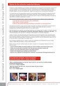 International Leadership Summit Leaders in Europe - Global Value ... - Seite 2