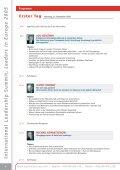 International Leadership Summit Leaders in Europe - Global Value ... - Seite 4