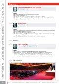 International Leadership Summit Leaders in Europe - Global Value ... - Seite 6