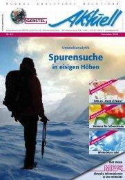 Spurensuche - Gerstel GmbH & Co.KG