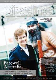 Farewell Australia - Salvation Army