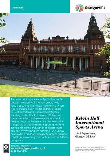 Kelvin Hall International Sports Arena - Glasgow Life