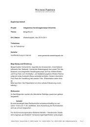 Protokoll Bürgerforum - Westerkappeln
