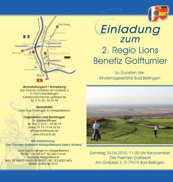 Einladung - Gemeinde Bad Bellingen
