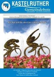 Kastelruther Gemeindebote - Ausgabe Juni 2009 (2,01 MB)