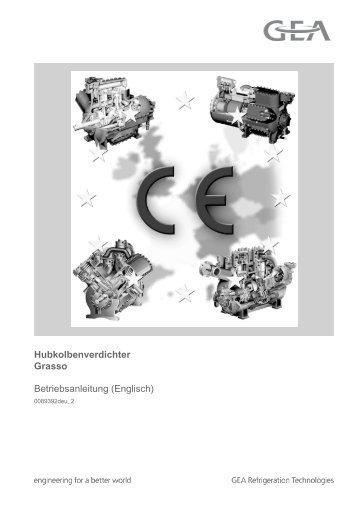 Hubkolbenverdichter für industrielle Kühlung Grasso - GEA ...