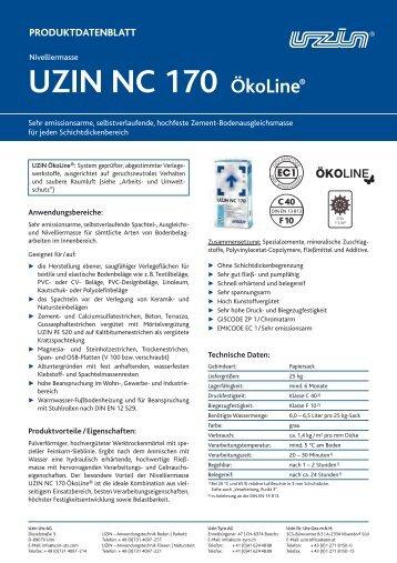 UZIN NC 170 ÖkoLine