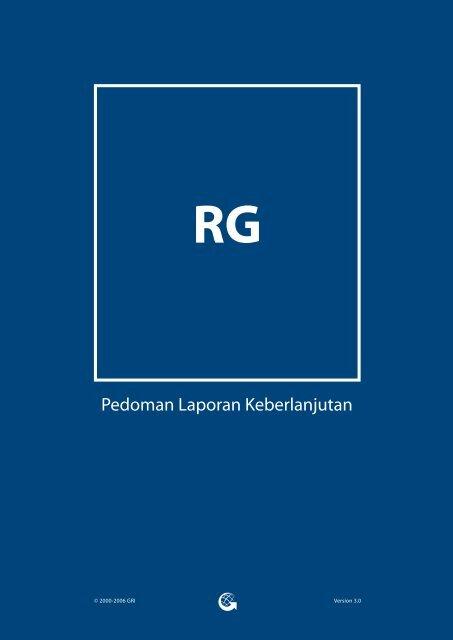 Pedoman Laporan Keberlanjutan GRI G3 - Global Reporting Initiative