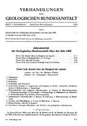1965 - Geologische Bundesanstalt
