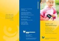 Flyer Kinder - Gemeinschaftskrankenhaus Herdecke