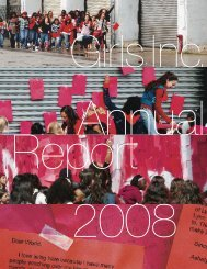 2008 Annual Report - Girls Inc.