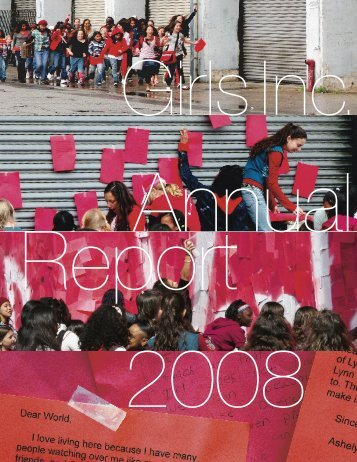 2008 Annual Report - Girls Inc.