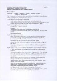 6. Sitzung 19.11.2012 - Gemeinde Dornburg